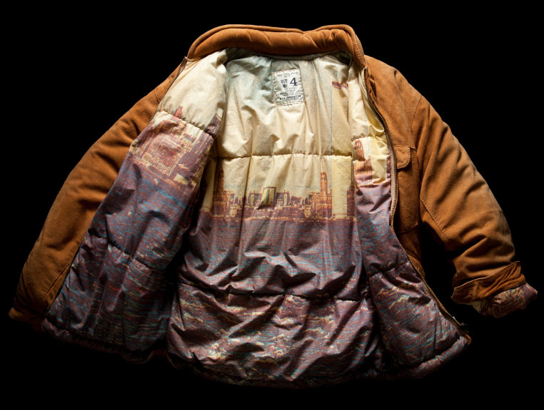 DEERSKIN DOWN JACKET