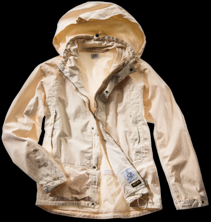 Gore-Tex is Garment Dyed for the first tyme