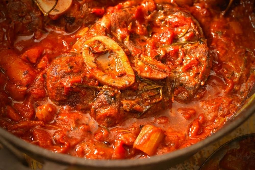 Recipe of the Month - Osso Buco al Vino Bianco e Polenta