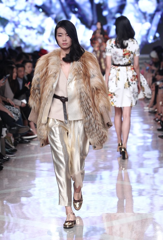 Blumarine and Blugirl collections sparkle at Shanghai Fashion Week