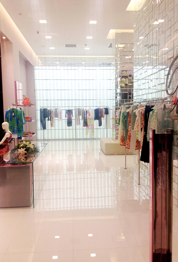 BLUMARINE IN SHEN YANG AND XI'AN