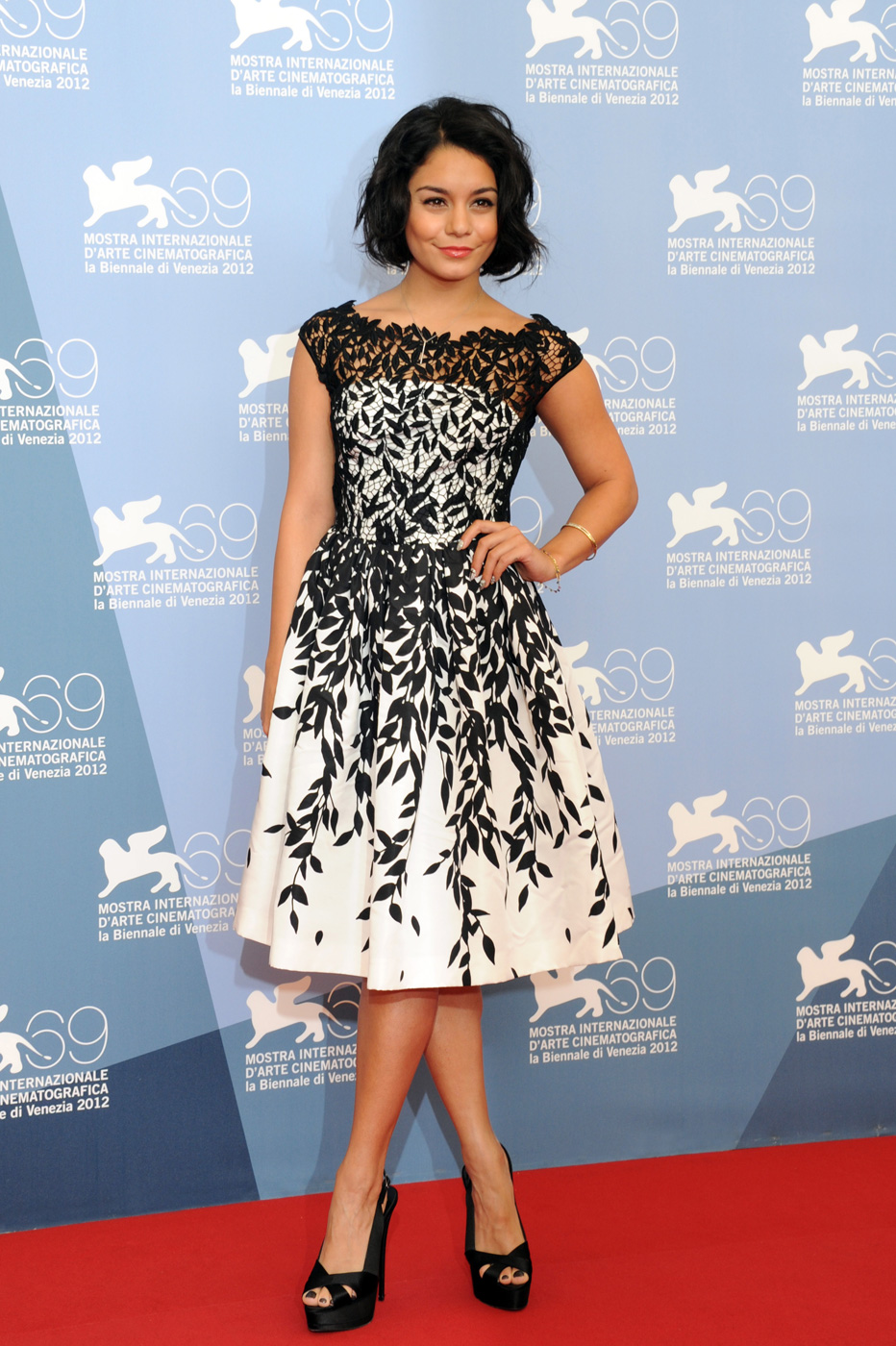 VANESSA HUDGENS IN BLUMARINE AT VENICE FILM FESTIVAL