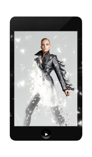 PREMIERING THE SPECIAL NEW CONTENT FOR IPHONE OR SMARTPHONE - A GIFT FROM BLUMARINE