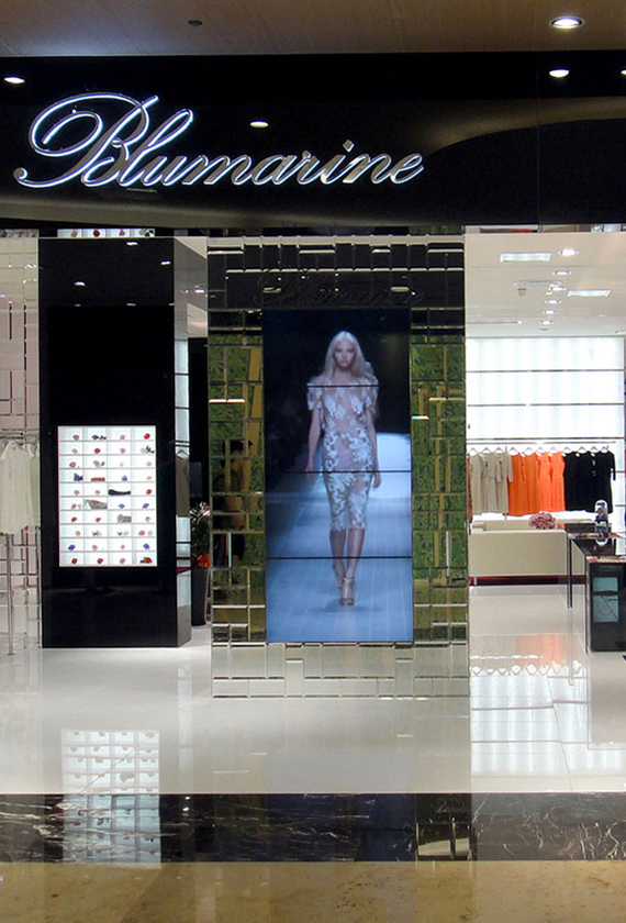 Blumarine 2014 Retail Expansion