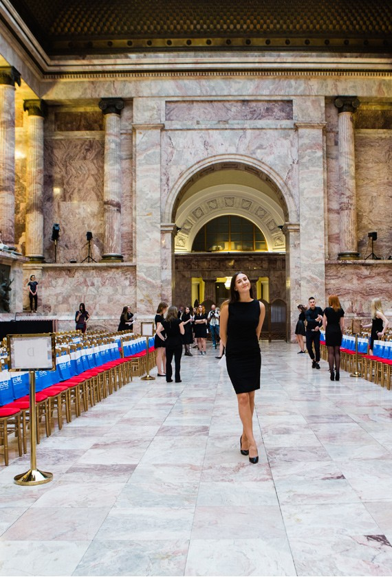 Blugirl Fall Winter 2016/17 Fashion Show in Saint Petersburg