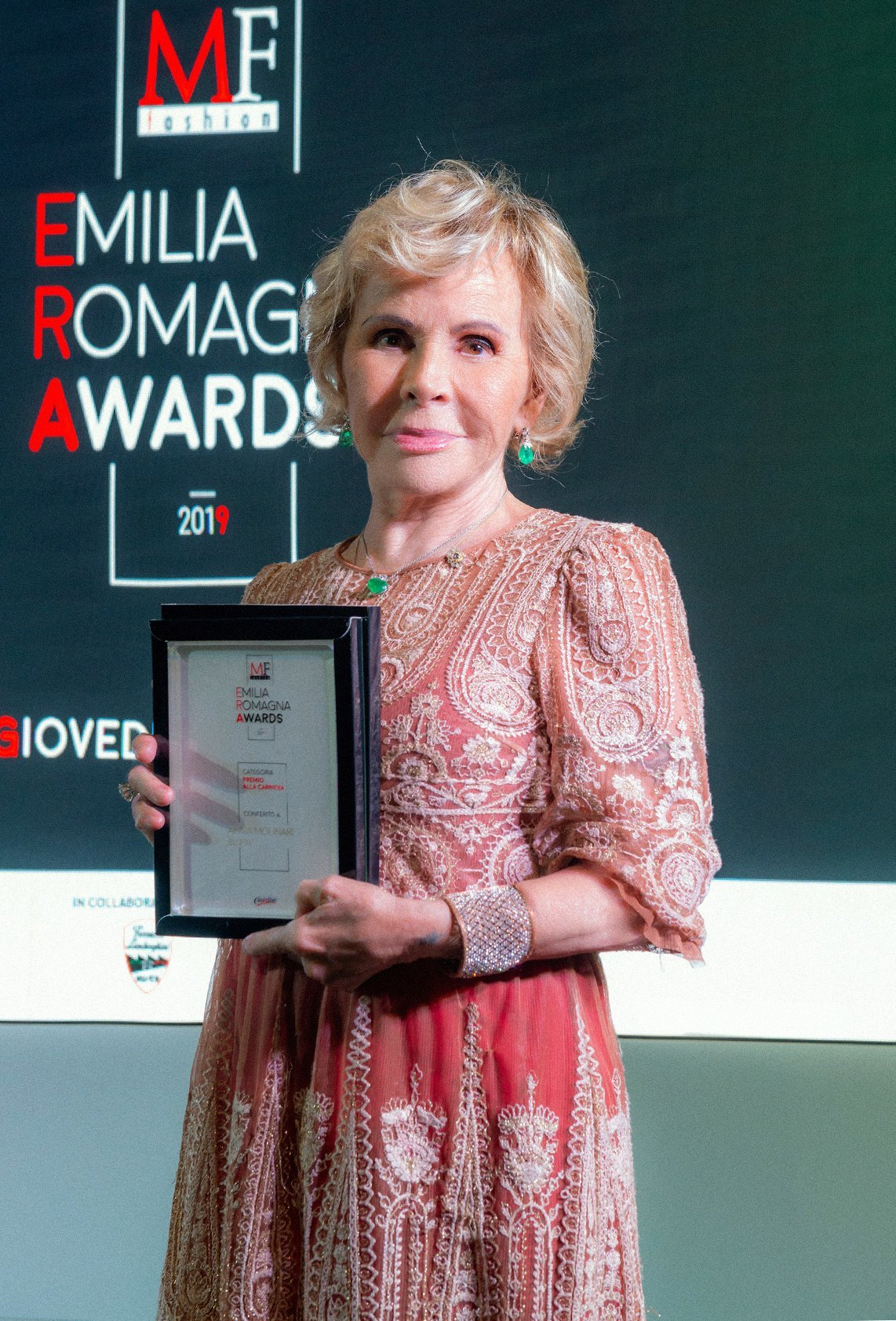 "MFF Emilia Romagna Awards: Anna Molinari receives ""the Career Award"""