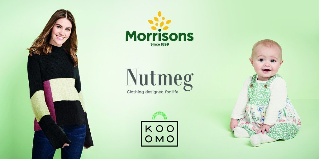 Morrisons to work with Kooomo to launch its flagship clothing Nutmeg brand online