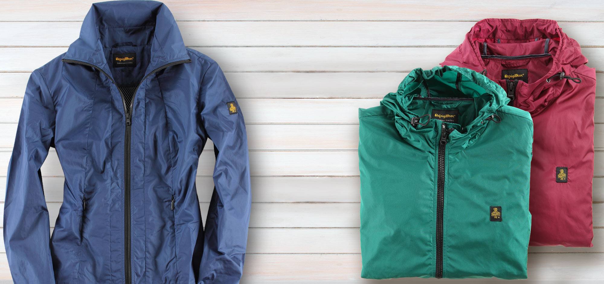 Waterproof, breathable and packable