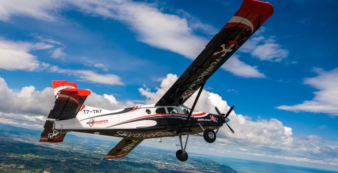 Turbolenza Pilatus Aircraft