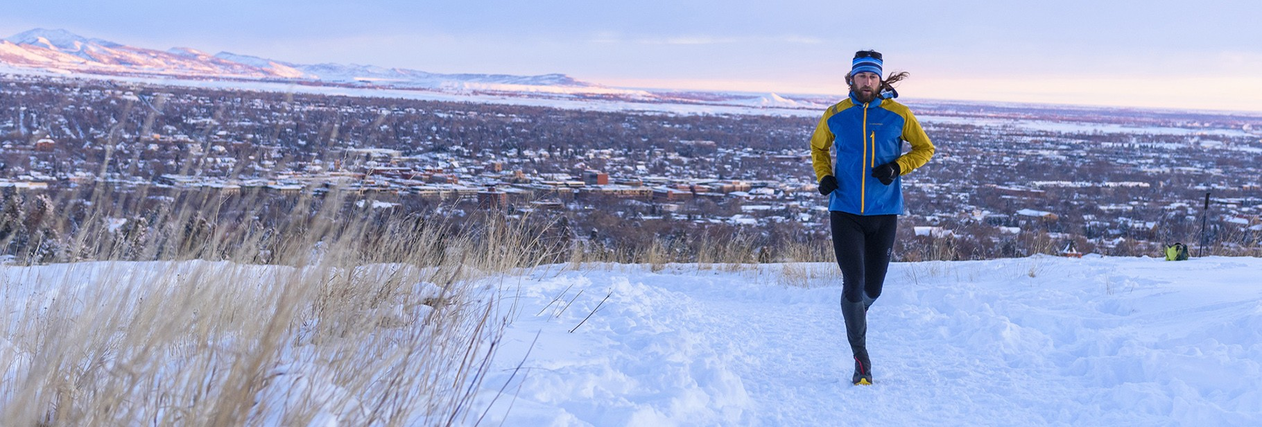 Winter Mountain Running