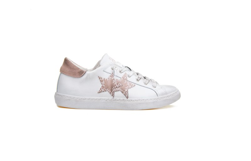 LOW SNEAKER WHITE-PINK