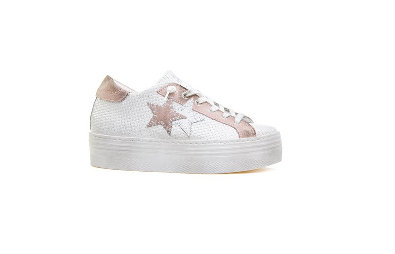 HS SNEAKER WHITE-PINK