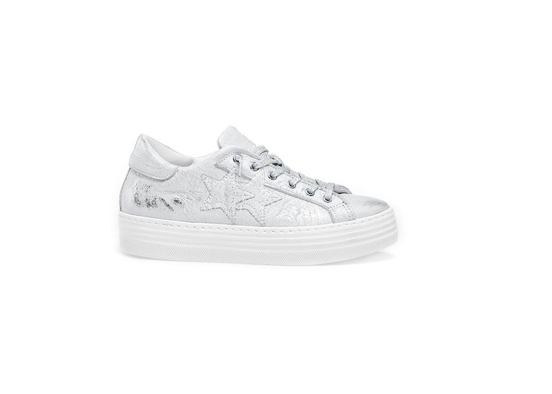 HS SILVER LOW SNEAKERS