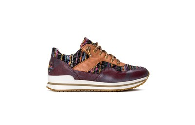 Sneaker low blu/multicolor/rame