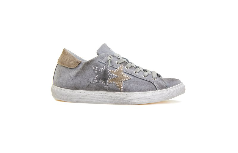 LOW SNEAKER MID GREY-TAUPE