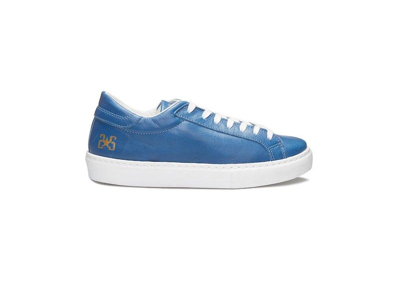 CORNFLOWER BLUE LOW SNEAKERS