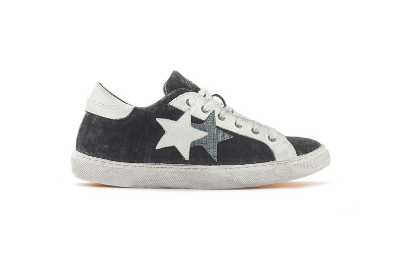 SNEAKER LOW GREY ANTHRACITE