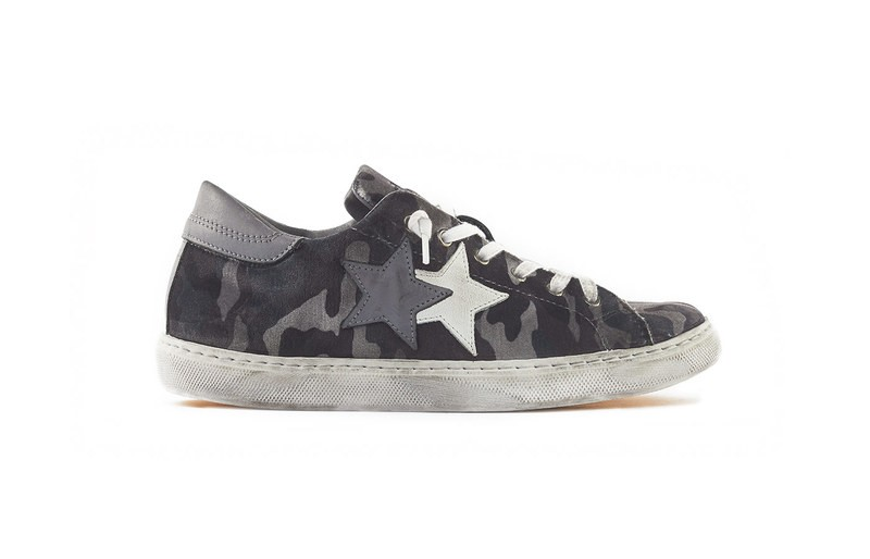 SNEAKER LOW GREY CAMOUFLAGES