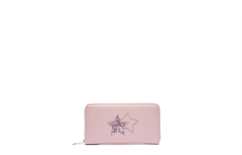 WALLET WITH GLITTER BY 2STAR