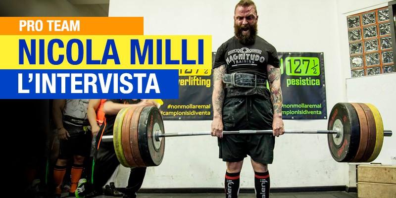 Powerlifting: intervista a Nicola Milli