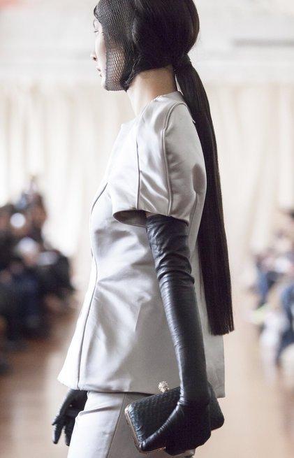 Paris Fashion Week <br> Paula Rowan gloves were featured in Paris Fashion Week