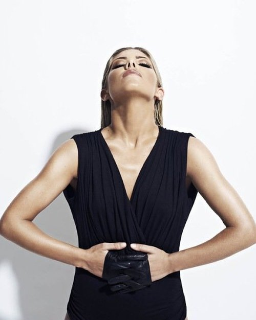 Mollie King in Women's Health Magazine <br> Shown wearing the 'Thing' gloveless fingers in black. Styled by Charlie Lambros, written by Niki Browes and Photographed by John Wright.