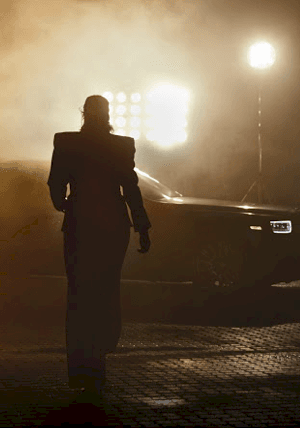Hero Shot Gwendoline Christie Rolls Royce July 2019:<br />Publication: Rolls Royce 2019 Phantom Campaign<br />Model: Gwendoline Christie<br />Stylist: Anna Hughes-Chamberlain<br />Photographer: Rankin Archive<br />Gloves: Montserrat 12bt