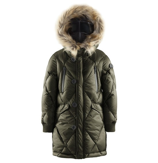 Boy down parka