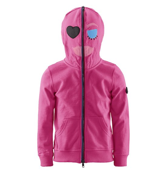 Girl's cotton hoodie