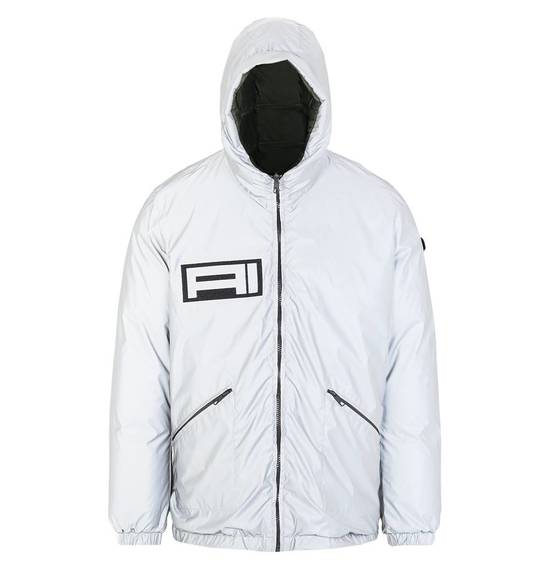 Men's down jacket reversible