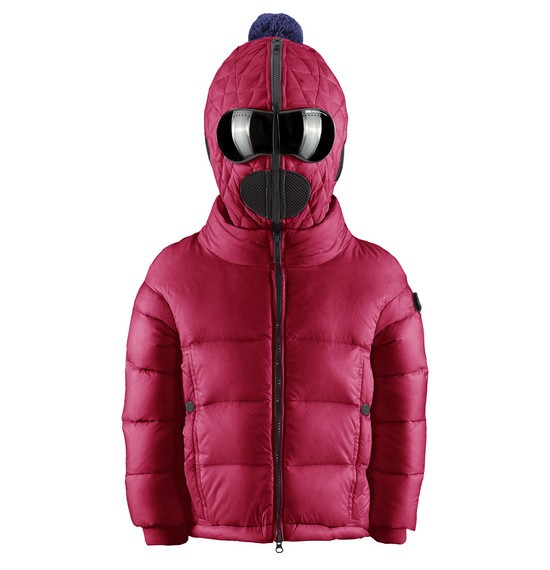 Baby Girl's down jacket Warmy