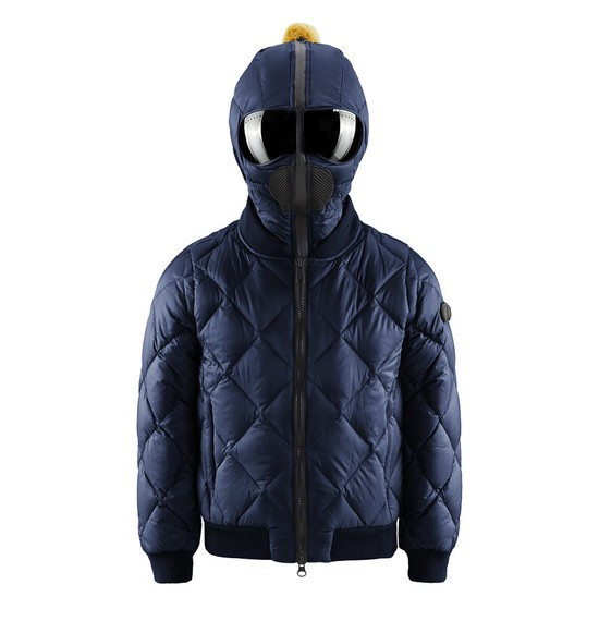 Boy's quilted bomber