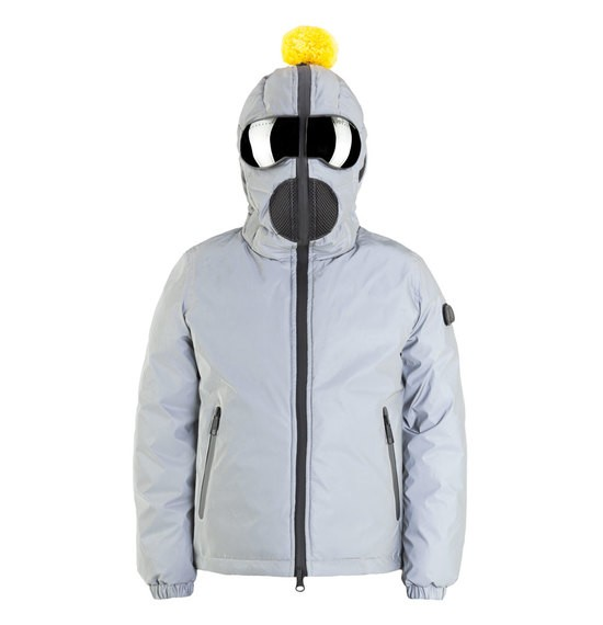 Boys' reflective down jacket