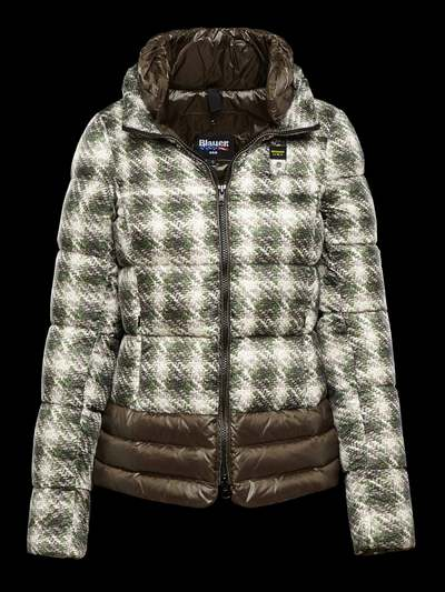 SHORT DIGITAL PRINT DOWN JACKET