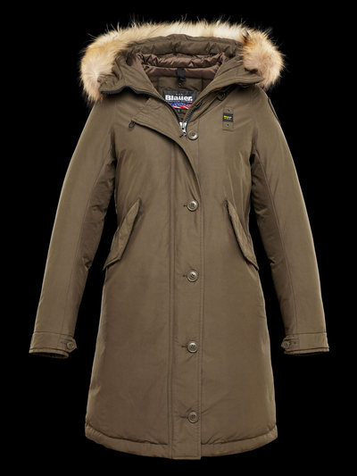 HEAVY WINTER MICROFIBER PARKA