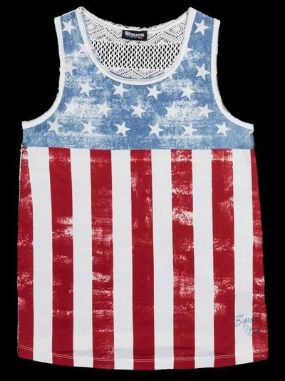 MUSKELSHIRT AMERICAN FLAG
