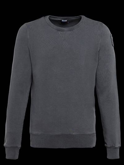 OLD-DYED COTTON SWEATSHIRT