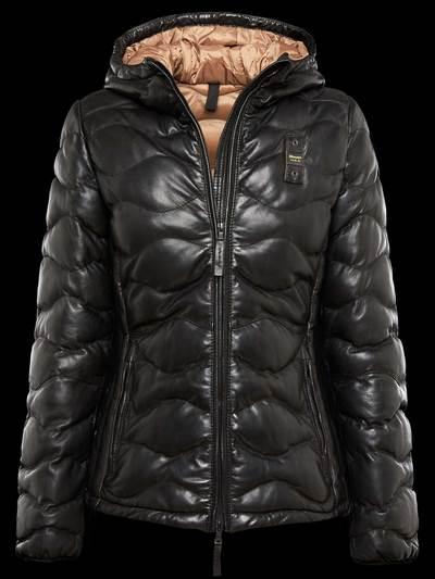COLD WINTER LEATHER JACKET