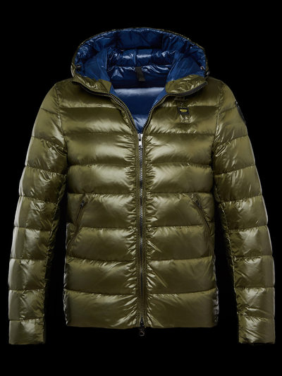 ICON GLOSSY DOWN JACKET