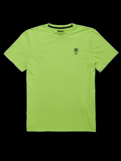 T-SHIRT POLICE FLUO