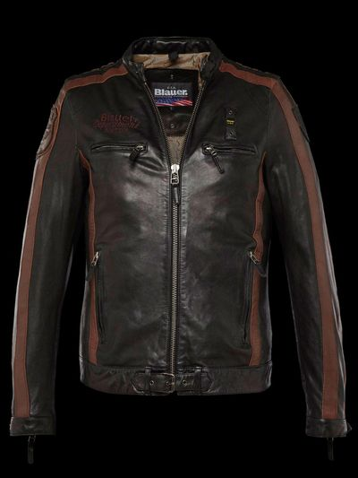 LEATHER BIKER HERITAGE SPORT