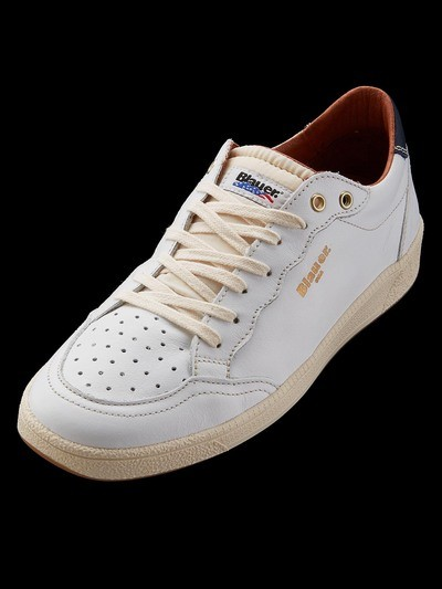 RETRO LEATHER SNEAKERS