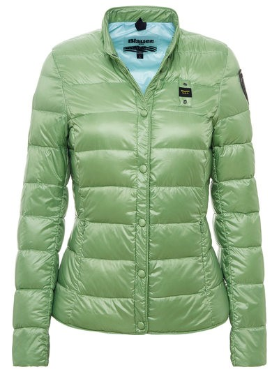 DOWN LIGHT JACKET WITH HORIZONTAL QUILTING