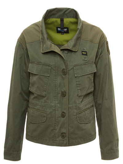 MILITARY UNLINED JACKET