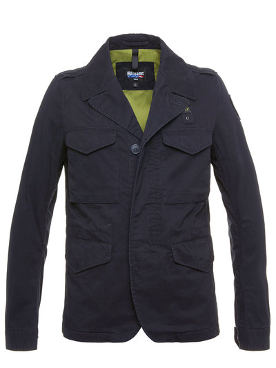 FOUR POCKETS UNLINED JACKET