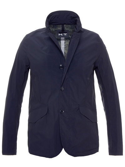 TWO POCKETS UNLINED JACKET