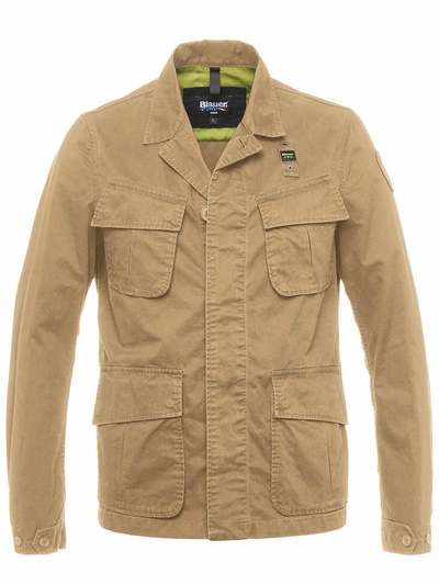 UNLINED CARGO JACKET