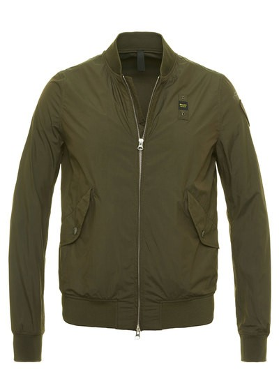 SHORT UNLINED BOMBER JACKET