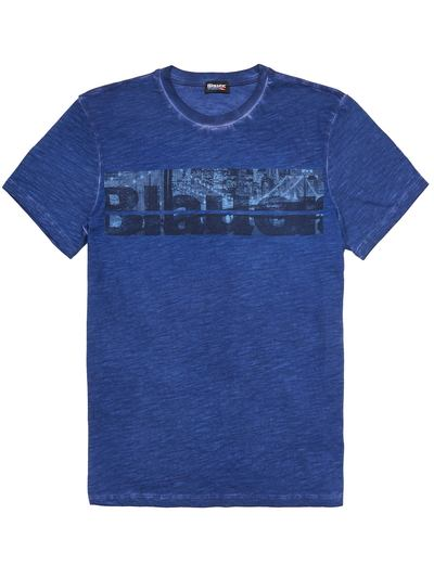 T-SHIRT BLAUER BROOKLIN