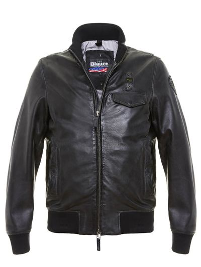 GLEN JACKET - LINED LEATHER JACKET